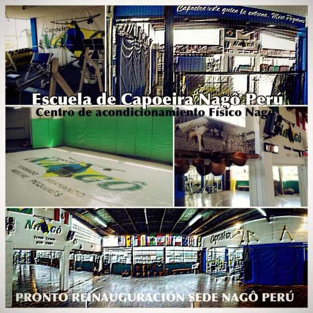 Taller de verano capoeira nagô perú lima 2014