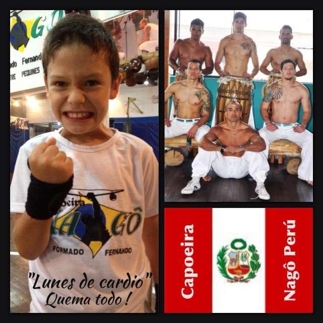 Taller de capoeira 2014 lima perú