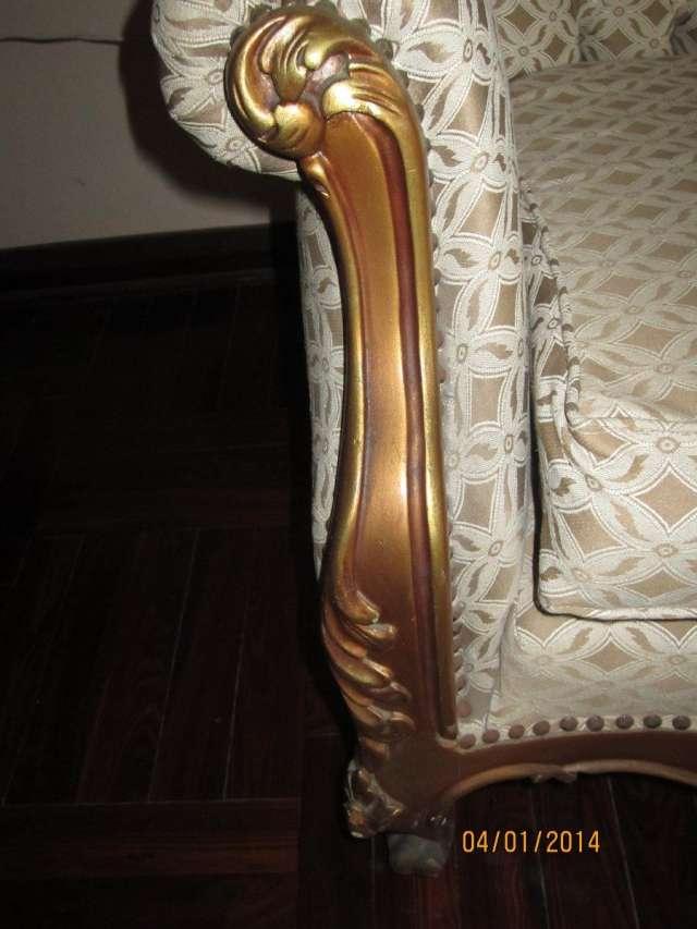 Fotos de Juego de sala luis xv de caoba en perfecto estado 6