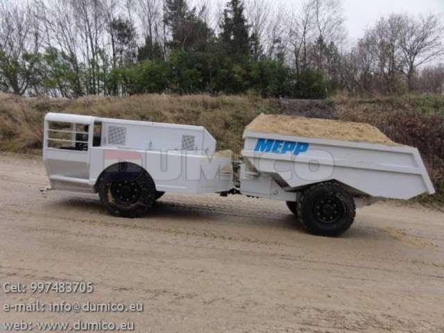 Dumper 6 toneladas - deutz c/turbo nuevo