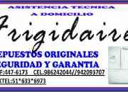Servicio tecnico de electrodomesticos frigidaire en lima peru
