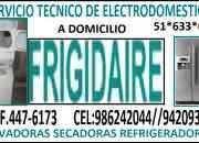 Servicio tecnico refrigeradoras frigidaire lima