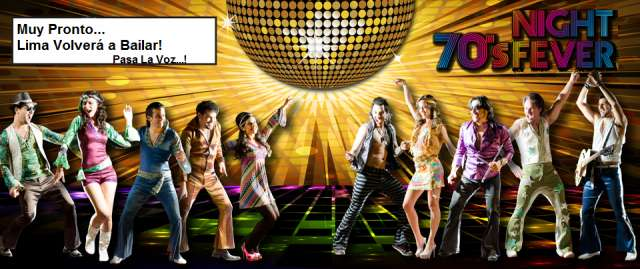"""La mejor fiesta que lima haya visto......""""party disco fever"""""""