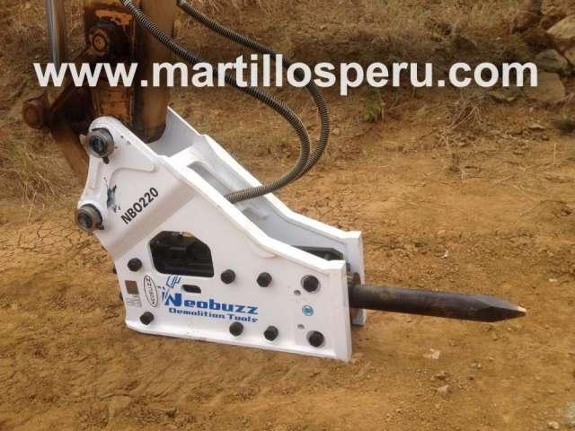 Martillo hidráulico para maquinaria pesada