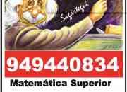 Profesor matematicas estadistica m.financiera