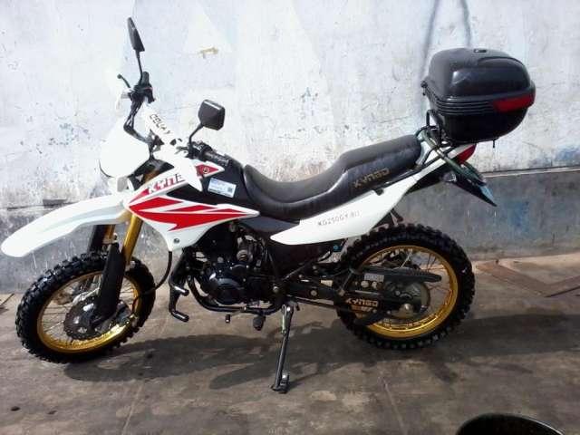 Vendo Moto Cross Ano 2012 Motor 250 Cc Poco Uso En Lima