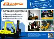 Montacargas sandoval