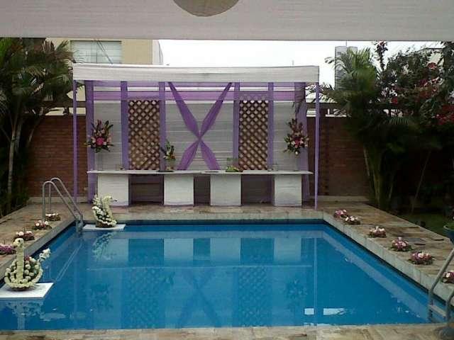 Alquilo residencia con piscina para matrimonio y otros eventos