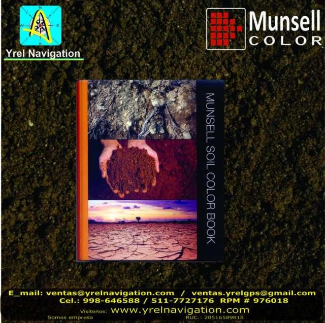 Terrenos agricolas, clasificación de suelos, tabla de colores munsell