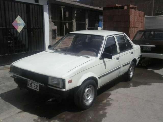 Vendo auto nissan sunny 85 (único dueño)