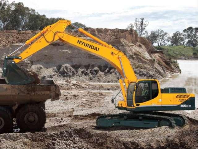 Fotos de Excavadoras hyundai peru 1