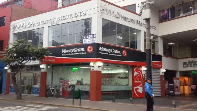 Alquiler local comercial en plena avenida larco - miraflores