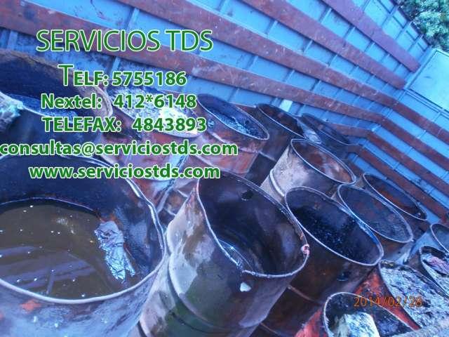 Recojo de residuos industriales telf: 5755186 / 412*6148