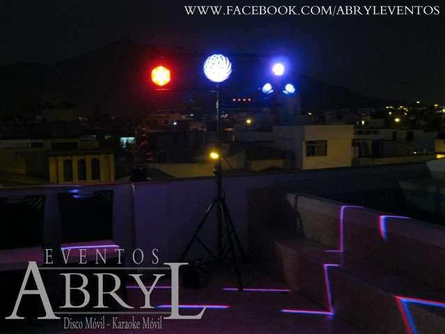 Alquiler de luces, sonido, hora loca y karaoke en el callao