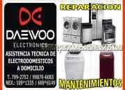 S.O.S / MANTENIMIENTO Y REPARACIONES EN LA MARCA DAEWOO ELECTRONICS