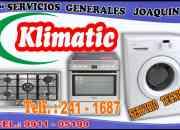 Klimatic = servicio técnico de  cocinas y lavadoras 241-1687