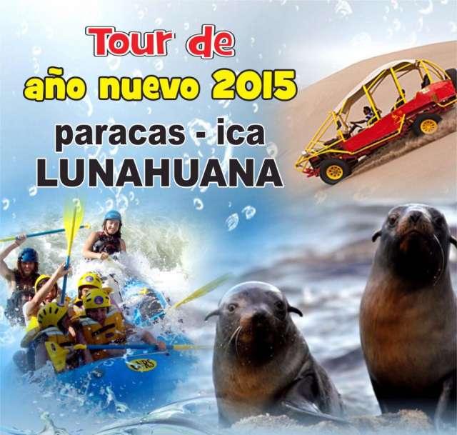 Paracas - ica - lunahuana fiesta de año nuevo 2015