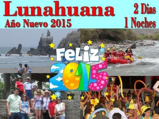 Desde s/ 199 campamento en lunahuana año nuevo 2015