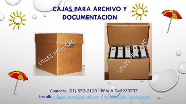 Cajas para archivar torquelada