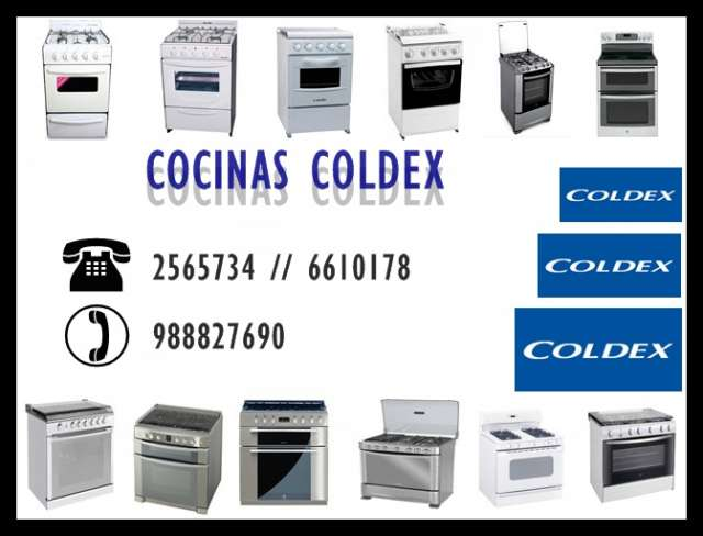 Servicio técnico cocinas coldex*