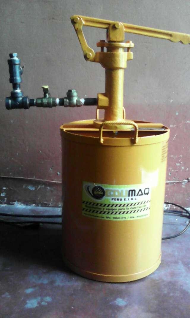 Equipo para pruebas hidrostaticas de alta y baja edumaq