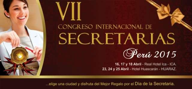 Congresos de secretarias 2015