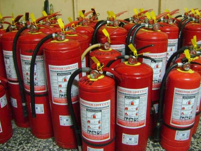 Extintores en recarga y venta, buen servicio, garantia,llamen 262-1001