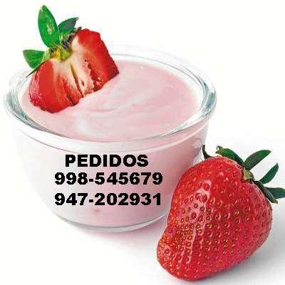 Yogur probiótico saludable sin preservantes