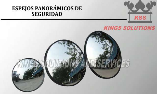Espejos panoramicos de seguridad ? peru ? kings solutions