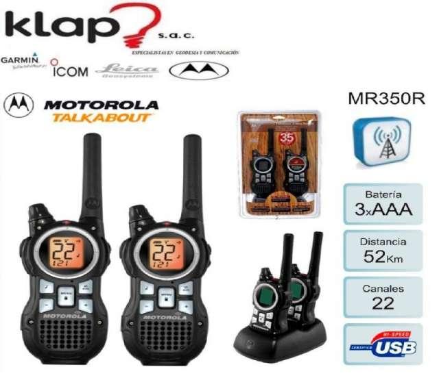 Radio motorola walkie talkie mr350