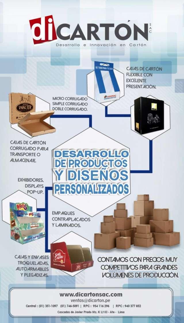 Cajas de carton - empaques