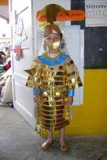 Trajes tipicos reciclaje disfraz ecologicos hadas robot princesas