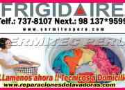 Tecnicos especialistas en reparación y mantenimiento secadora frigidaire 7378107 (santiago de surco)