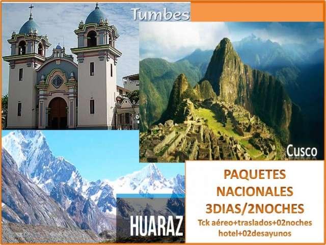 Aprovecha nuestras grandes promociones turisticas