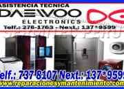 Profesionales en mantenimiento secadoras daewoo 7378107 ((san juan de miraflores))