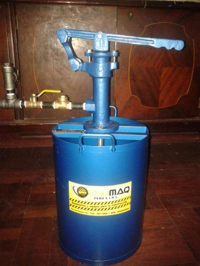 Equipo para pruebas hidrostaticas edumaq