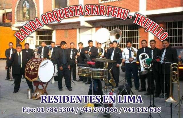 Banda de musicos de lima star peru