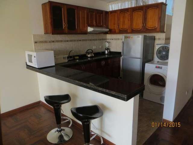 Alquilo departamento amoblado con balcon $750 dolares x mes 1 dormitorio