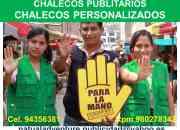 CHALECOS PUBLICITARIOS EMPRESARIALES