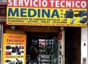 Servicio tecnico de camaras digitales en lima peru