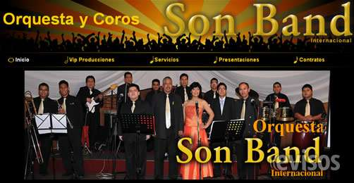 Orquesta y coros son band