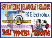 Servicio técnico electrolux (( san borja )) 7992752