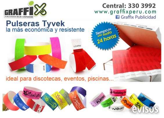 0be935fc24fa Pulseras de papel para eventos en Lima - Otros Servicios | 584387