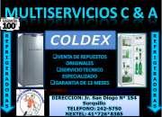 2425750?@ servicio tecnico refrigeradores coldex lima  2425750?@
