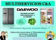 2425750?? servicio tecnico refrigeradores daewoo lima  2425750@
