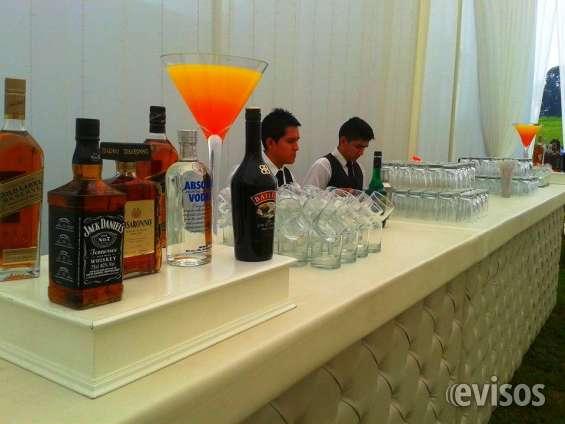 Servicio de open bar