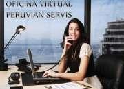 Alquiler de oficina administrativa virtual en miraflores