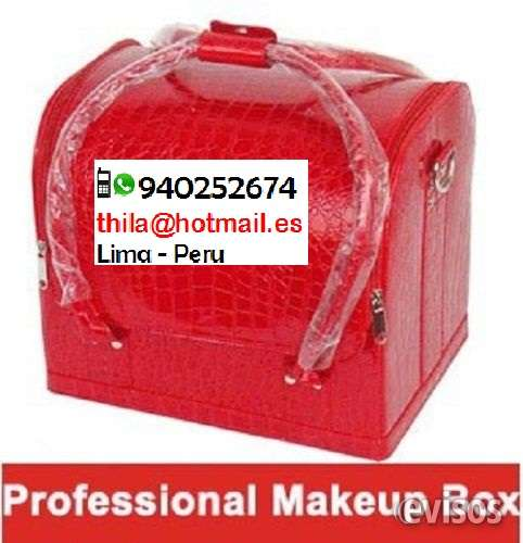 Fotos de Maletin maquillaje cuero sintetico peru 1