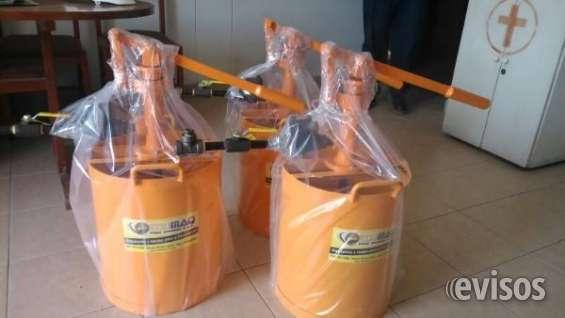 "Bombas hidrostáticas para pruebas ""edumaq"""