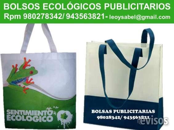 Bolsas ecologica